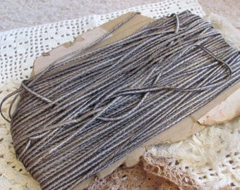 Metal Trim Antique French Early Century Gold Accented Metal Sewing Trim - by The Yard
