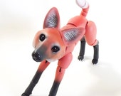 RESERVED for Lisa C. Maned Wolf Ball Jointed Doll - Commission - Last payment.