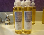 Nature's Rain Liquid Soap and Shampoo 8 oz Bottle