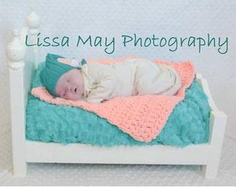 Bed and Mattress Newborn Photography Prop