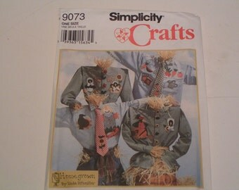 Simplicity Pattern Crafts 9073 Homegrown by Linda Kitzmiller Fall
