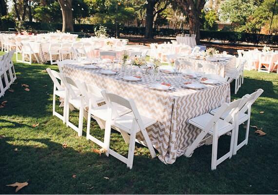 20% SALE Blush Champagne White Chevron Sequin Tablecloths. SHIPS ASAP. Gatsby wedding, Art Deco