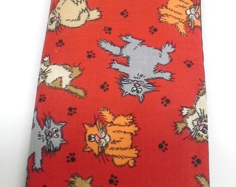 Red Kitty Seat Belt Cover