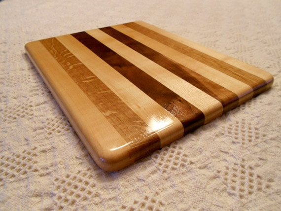 wood cutting board walnut maple  white oak  etsy, Kitchen design