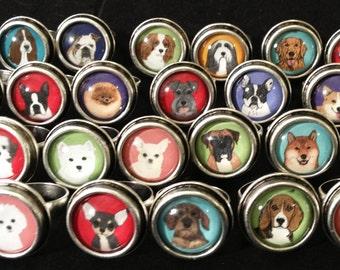 POP ART Dog ring