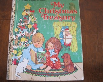 Vintage My Christmas Treasury, a Little Golden Book