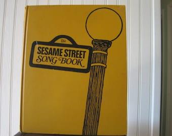 Vintage Sesame Street song book, published 1971