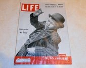 Vintage Magazine - Vintage Life Magazine March 10, 1952 - McCarran - Stalin - Natural Gas - New Hampshire politics
