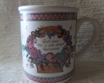 1989 Enesco Fruits of the Spirit Mug