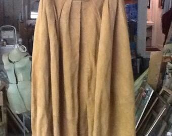 Vintage Lamb Suede Skirt