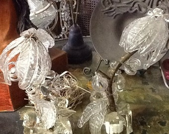 Vintage All Glass Lamps