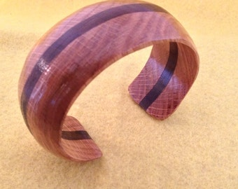 Layered wood bracelet
