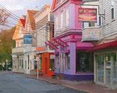 Provincetown Street - Art Board