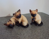 Lefton Siamese Cat Set ( Please read info before you buy)