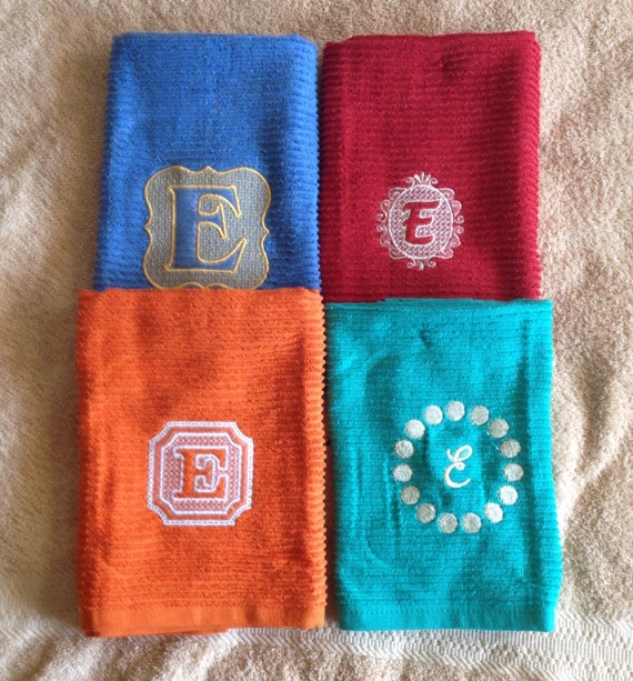 Custom Kitchen Towels Embroidered Kitchen Towel Embossed