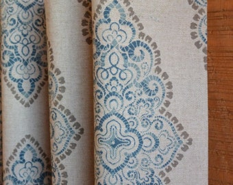 SUMMER SALE! Curtains, Window Treatments, Nursery Baby Room Decor, Curtain Panels,  Monroe Cadet Oatmeal shown