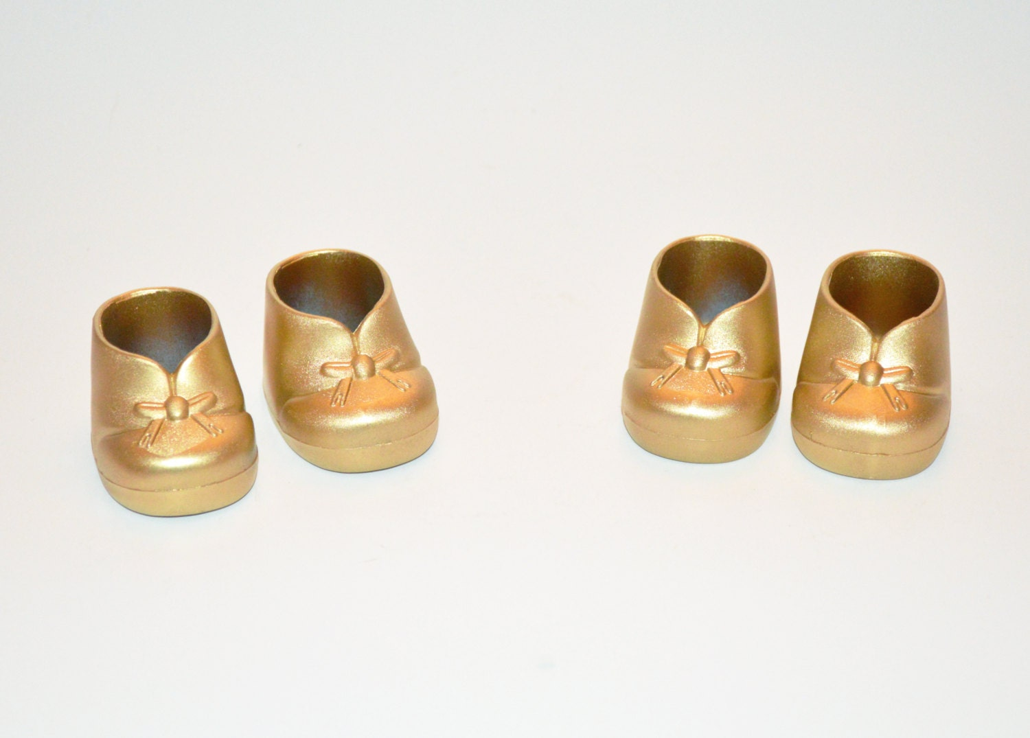 Baby Shower Decorations Gold Baby Booties