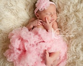 Newborn Baby Girl Pink Pettiskirt Girls Twirly Skirt Extra Fluffy