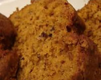 Pumpkin bread.Homemade FREE SHIPPING Fresh made bread 8 loaves of Scrumptious Handmade with a deliciously spiced flavor