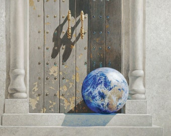 """Greg Mort's """"ONE WORLD"""" 2013 Holiday Gift Cards"""