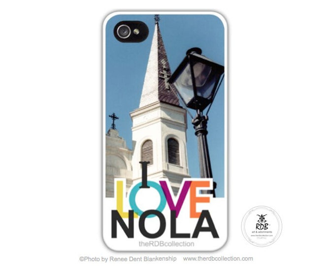 I LOVE NOLA Phone Case - St. Louis Cathedral - New Orleans
