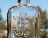 Nice old OWL DRUG Co Antique Bottle w/ pic OWL on druggist mortar, San Francisco Cal.