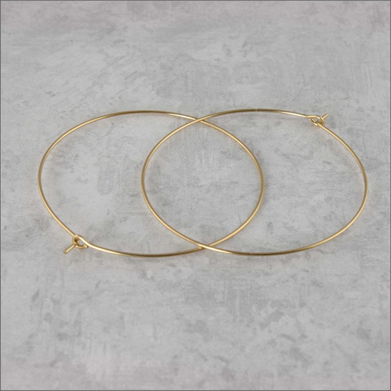 hoop earrings 1 1 2 40mm 14 kt gold filled hoop