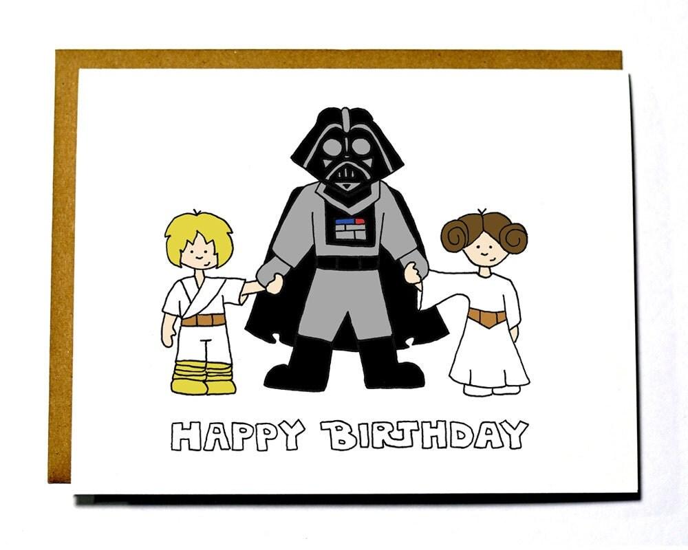 Happy Birthday Star Wars Card ~ Chandeliers pendant lights