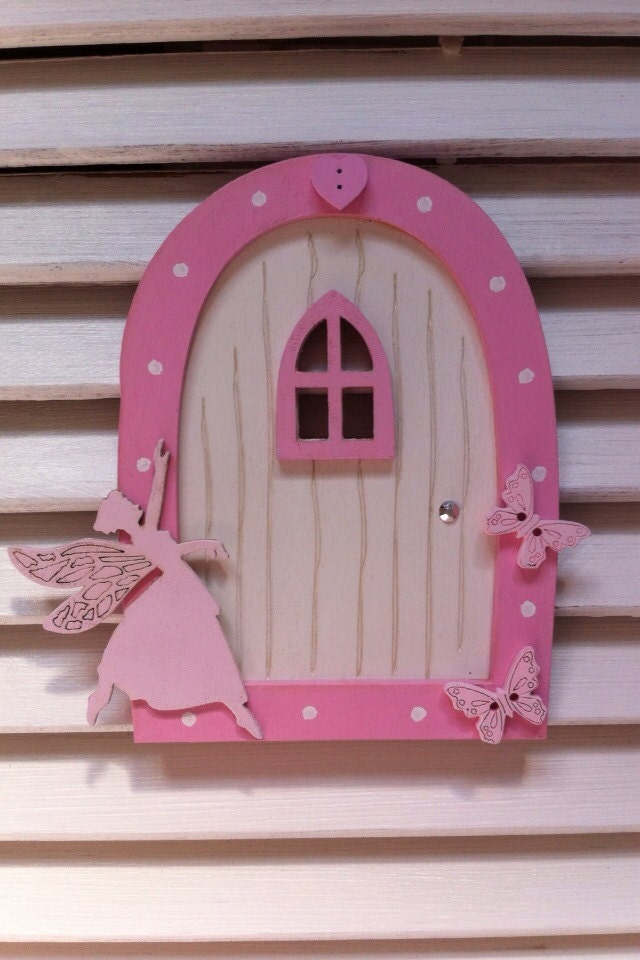 Wonderful wooden fairy doors contemporary exterior ideas for Wooden fairy doors that open