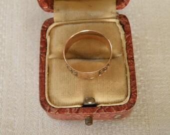 Victorian 10K Rose Gold Ring - Size 6 U.S.