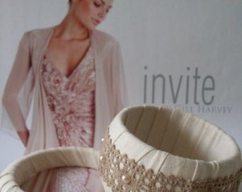 Linen & Lace and Pearls Set of 2 Bangles  Beaconhillcollect   We Ship Internationally