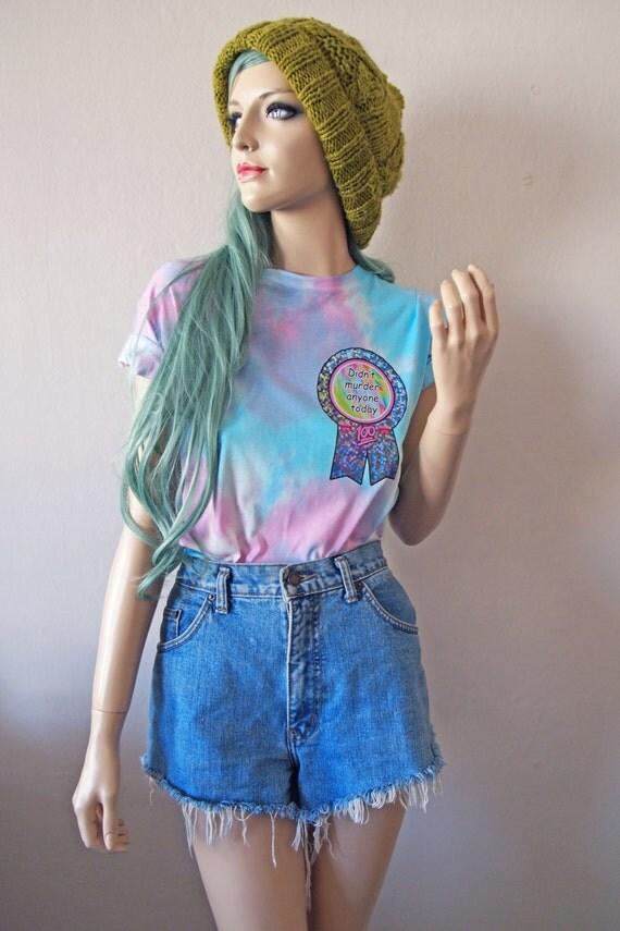 Didn't Murder Anyone Today Dye T-Shirt cute gift tumblr