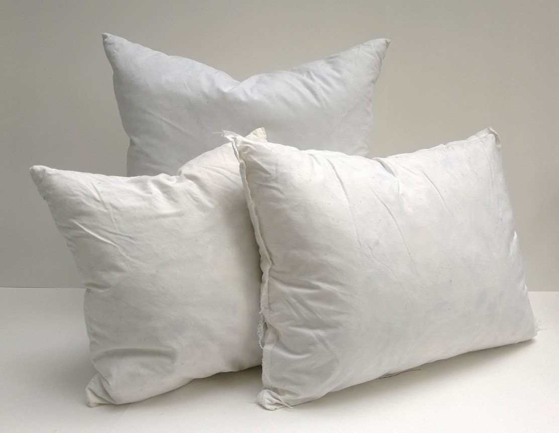 Down And Feather Pillow Form Insert 10/90 Blend
