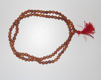Pure Sandalwood Mala 108+1 Beads