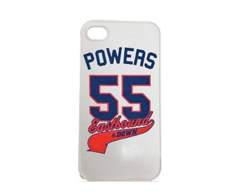 Eastbound and Down Kenny Powers iPhone 4 4s and IPhone 5 5s Cell Case White