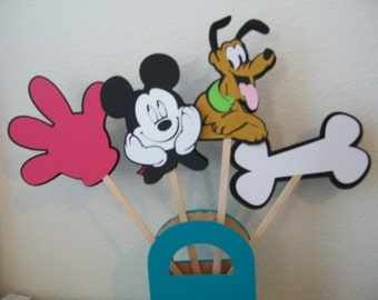 Mickey  & Pluto Party Package -  Mickey Mouse Birthday Package -