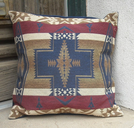 Southwestern Cushion Covers : Items similar to Southwestern Pillow Cover 18