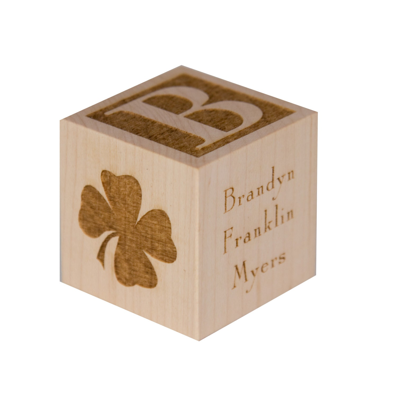 Unique Personalised Baby Gifts Ireland : Personalized baby s first st patrick day block