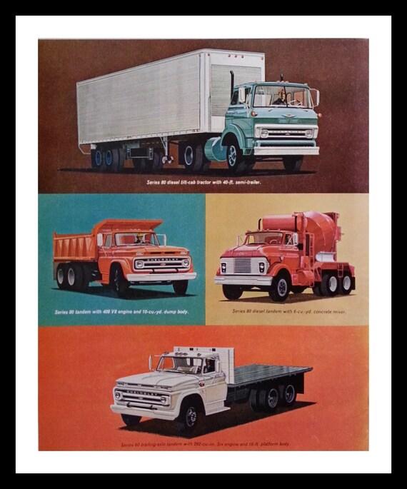 Chrysler Truck Montage. 64 Big Chevys Semi Dump Truck. 13