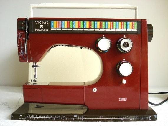 vintage viking husqvarna sewing machine