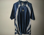 90s adidas collared shirt size XL