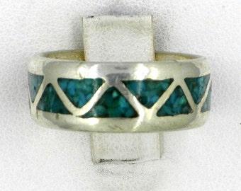 Vintage Inlay Ring