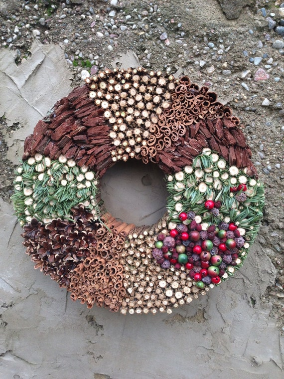 Christmas wreath - Holiday wreath - Advent wreath - Winter wreath