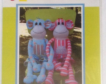"Melly & Me Magoo 23"" Tall  Soft Toy Sewing Pattern"