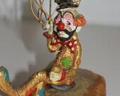 Vintage clown statue by Ron Lee