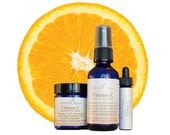 Vitamin C Natural Face Care Collection, Toner, Face Creme, Face Care Set, Face Set, Vitamin C, Natuaral Face Care, Butterfly Kisses