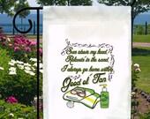 Sun Sand Good Ole Tan New Small Garden Yard Flag, Bar, Beach, Gifts, Decor