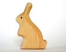 Waldorf Toys, Bunny, Rabbit, Wooden Animals