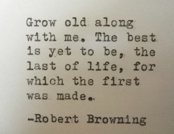 Items similar to ROBERT BROWNING quote love quote Literary ...