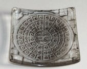 NYC manhole cover - Con Edison co - Black and clear